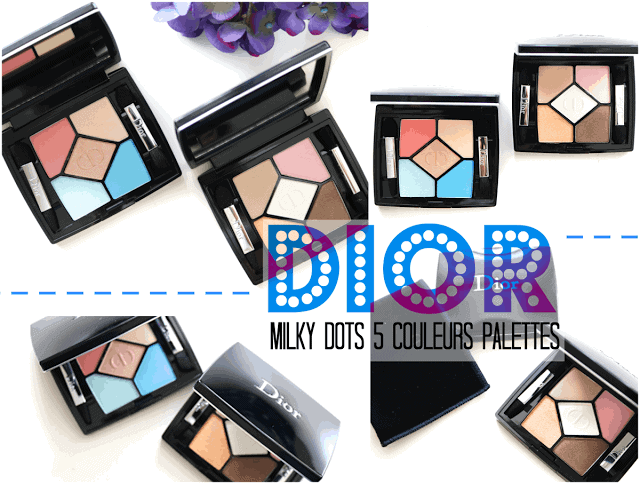 Dior Beauty Milky Dots Summer 2016 Collection 5 Couleurs Eyeshadow Palettes
