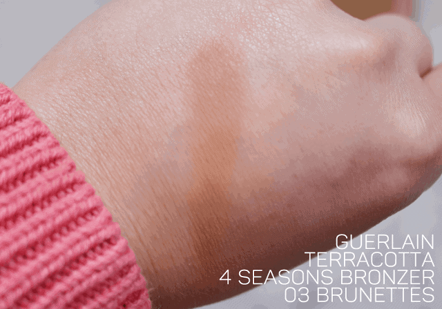 Guerlain Terracotta Bronzer 4 Seasons 03 Brunettes review and swatch