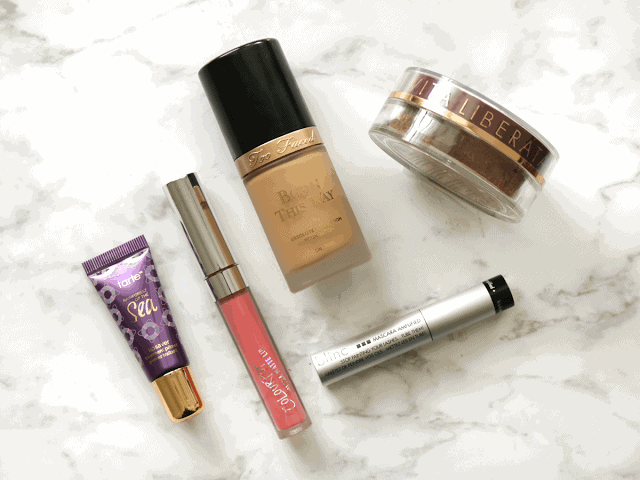 Product Letdowns from tarte, Colourpop, Too Faced, Vita Liberata and Blinc