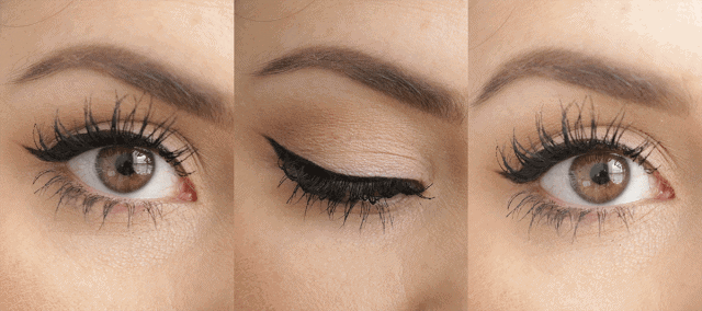 6 Products to get Perfect Winged Liner Every Time: Bioderma, Too Faced Better Than Sex Mascara, Kat Von D Tattoo Liner, Urban Decay Waterline Pencils, Shu Uemura Lash Curler