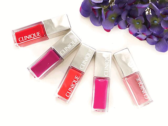 Clinique Pop Lacquer Lip Colour + Primer Review and Swatches