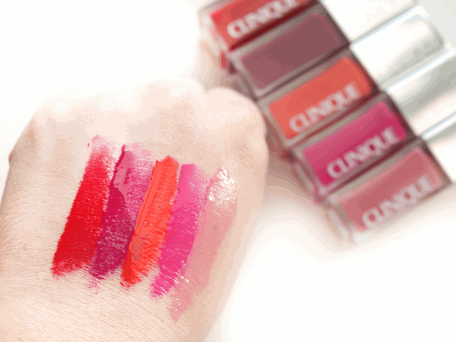 Clinique Pop Lacquer Lip Colour + Primer Review and Swatches