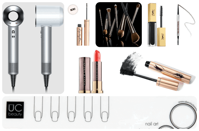 June 2016 Wish List: Dyson Supersonic, Urban Decay Pro Brushes, Charlotte Tilbury LEgendary Lashes, UberChic, Benefit Precisely Yours Brows, Urban Decay Vice Lipstick