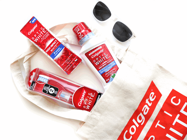 Getting a Brighter, Whiter Smile with Colgate Optic White