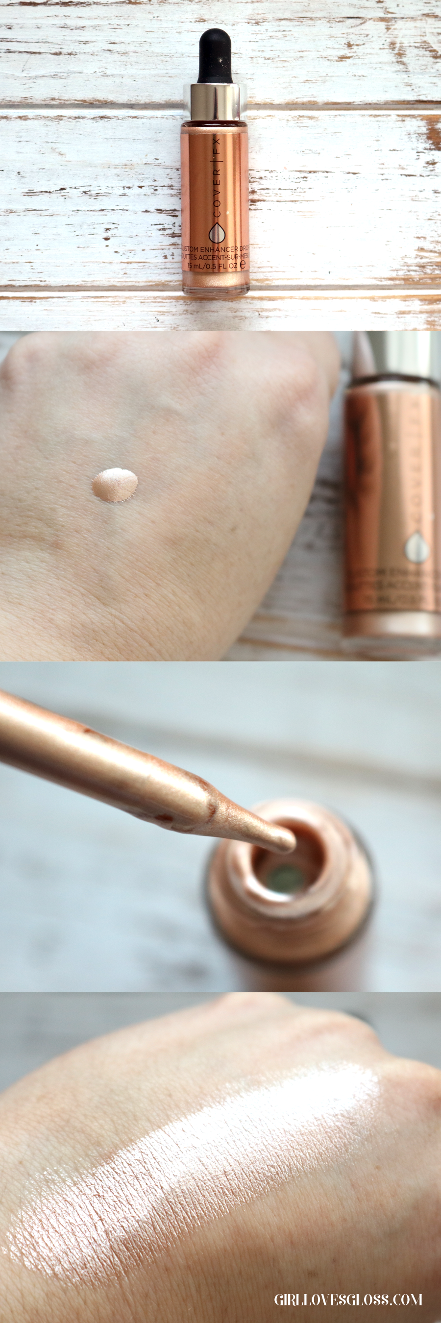 CoverFx Custom Enhancer Drops Review and Swatch
