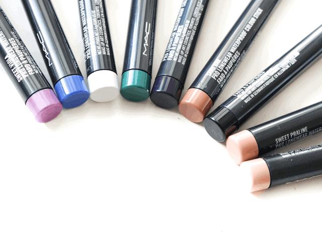 MAC Pro Longwear Waterproof Colour Sticks Review + Giveaway