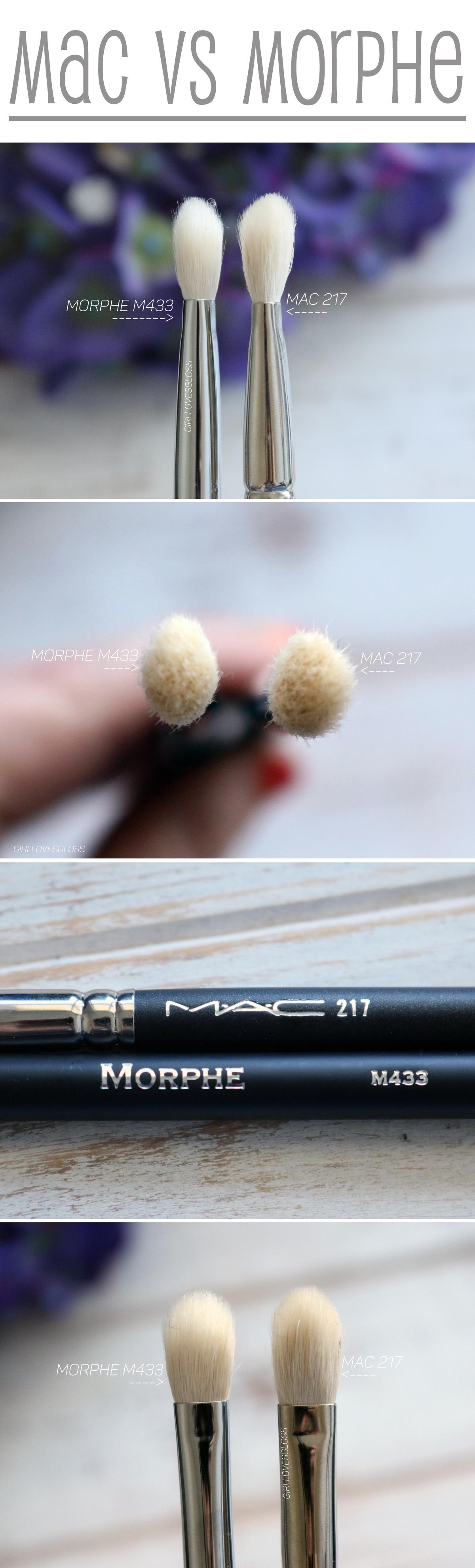MAC 2017 vs Morphe M433 Brush Review and Comparison