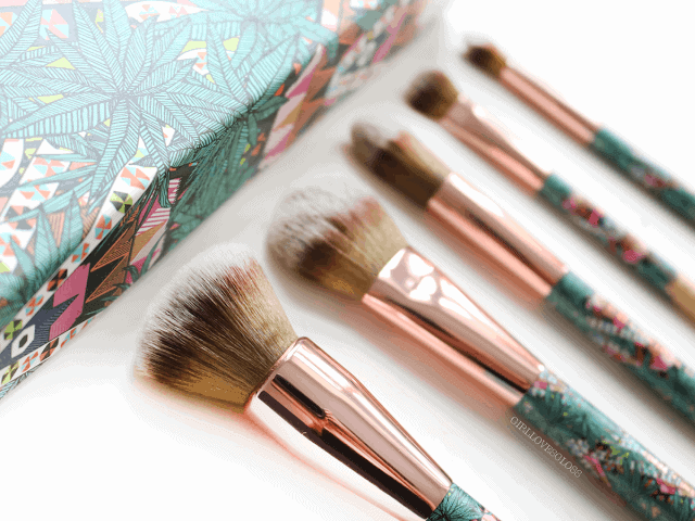 Mara Hoffman for Sephora Kaleidescape Charcoal Brush Set Review