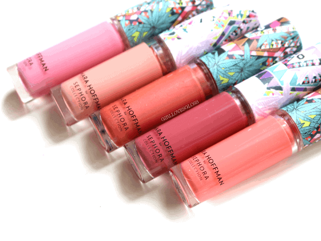 Mara Hoffman for Sephora Collection Kaleidescape Lipgloss Set Review