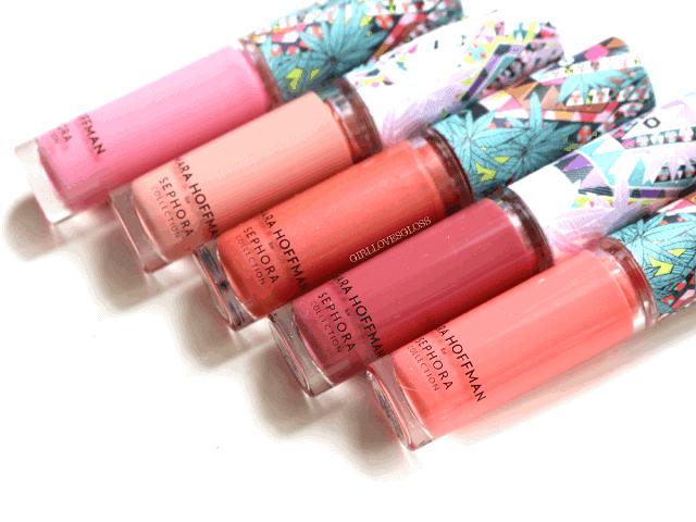 Mara Hoffman for Sephora Collection Kaleidescape Lipgloss Set Review