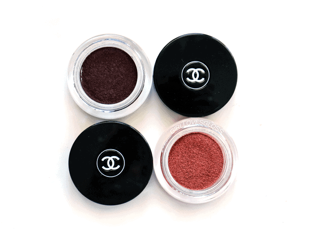 Autumn 2016: Chanel Le Rouge Collection Illusion D'Ombre Shadows