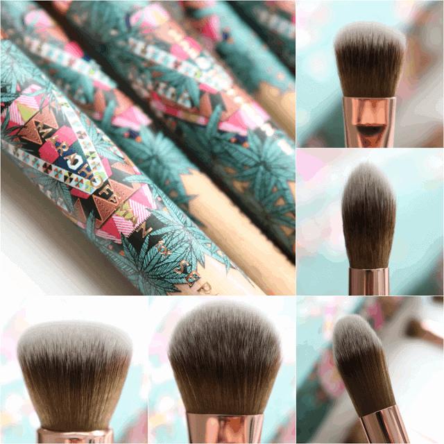Mara Hoffman for Sephora Kaleidescape Charcoal Brush Set Review