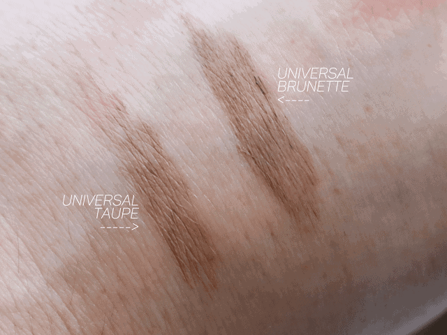 Too Faced Brow Quickie Review and Swatches