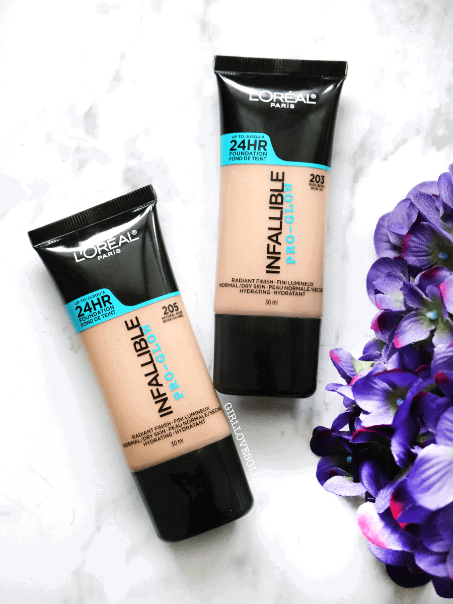 Loreal Infallible Pro-Glow Foundation Review