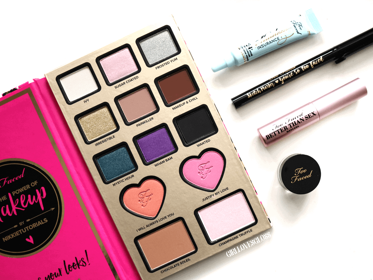 Nikkie Tutorials for Too Faced: Power of Makeup Palette