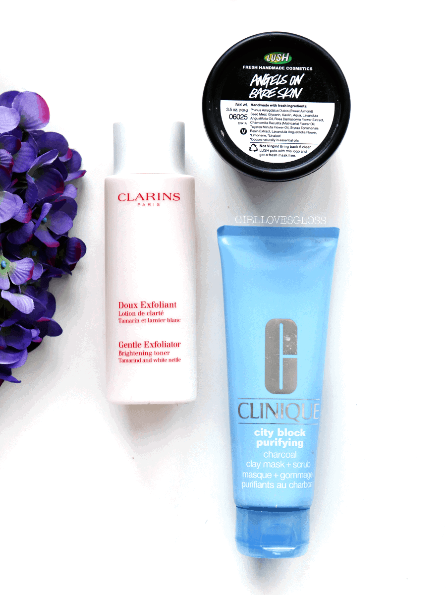 Best Exfoliators by Clarins, Lush and Clinique
