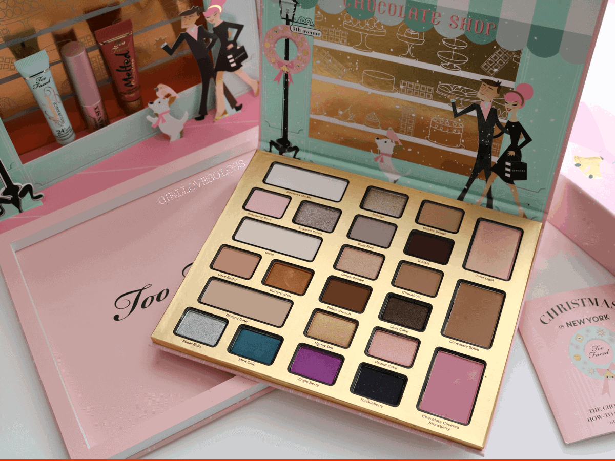 Too Faced Chocolate Shop Holiday 2016