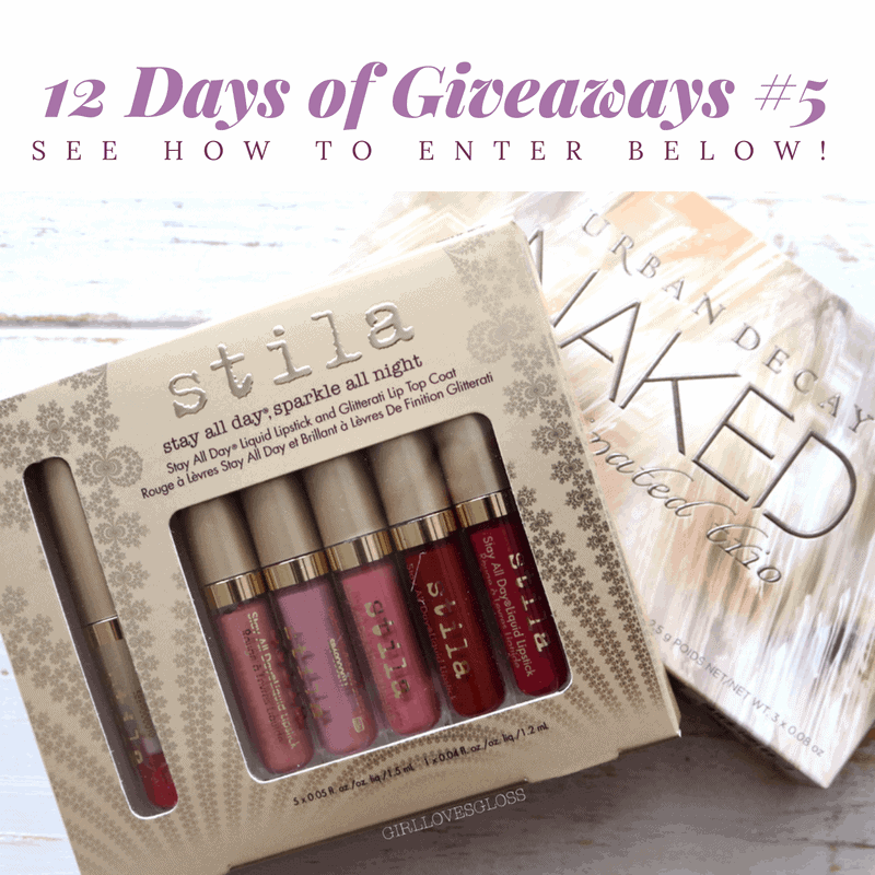 12 Days of Giveaways # 5