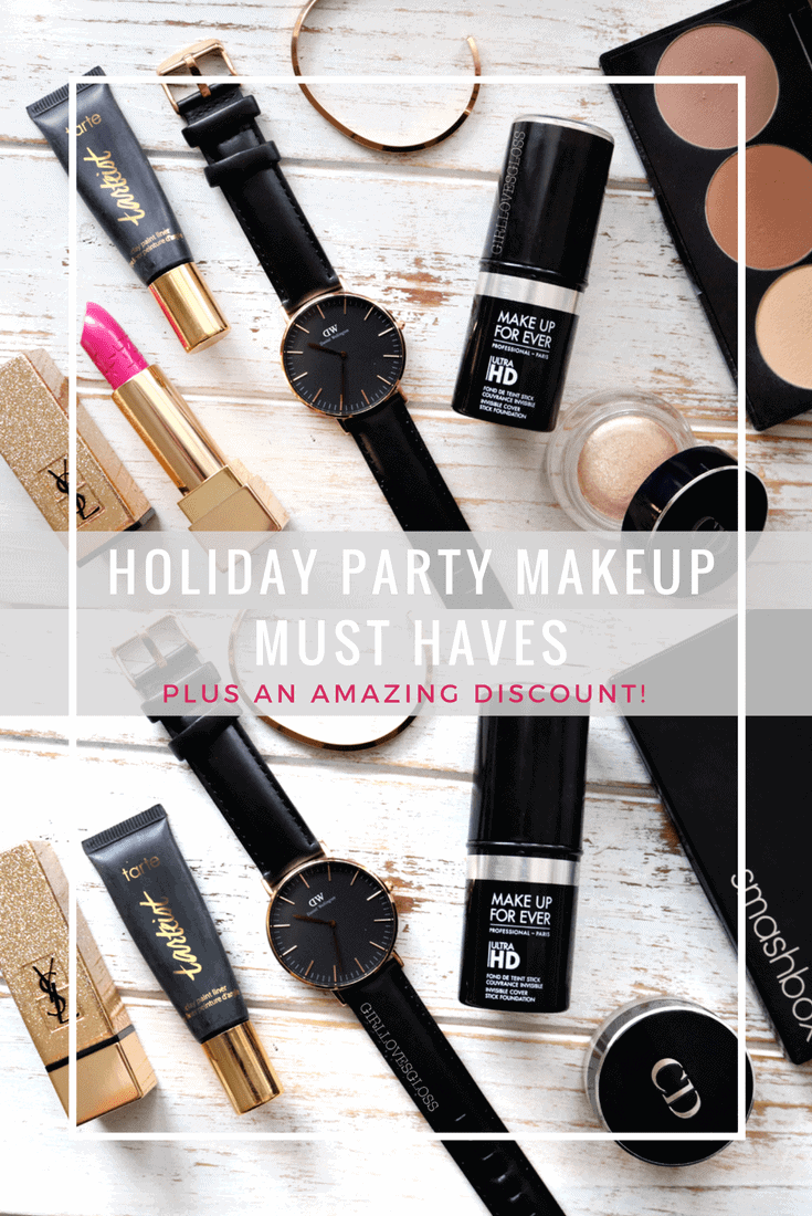 Holiday Party Makeup Must Haves Featuring Daniel Wellington