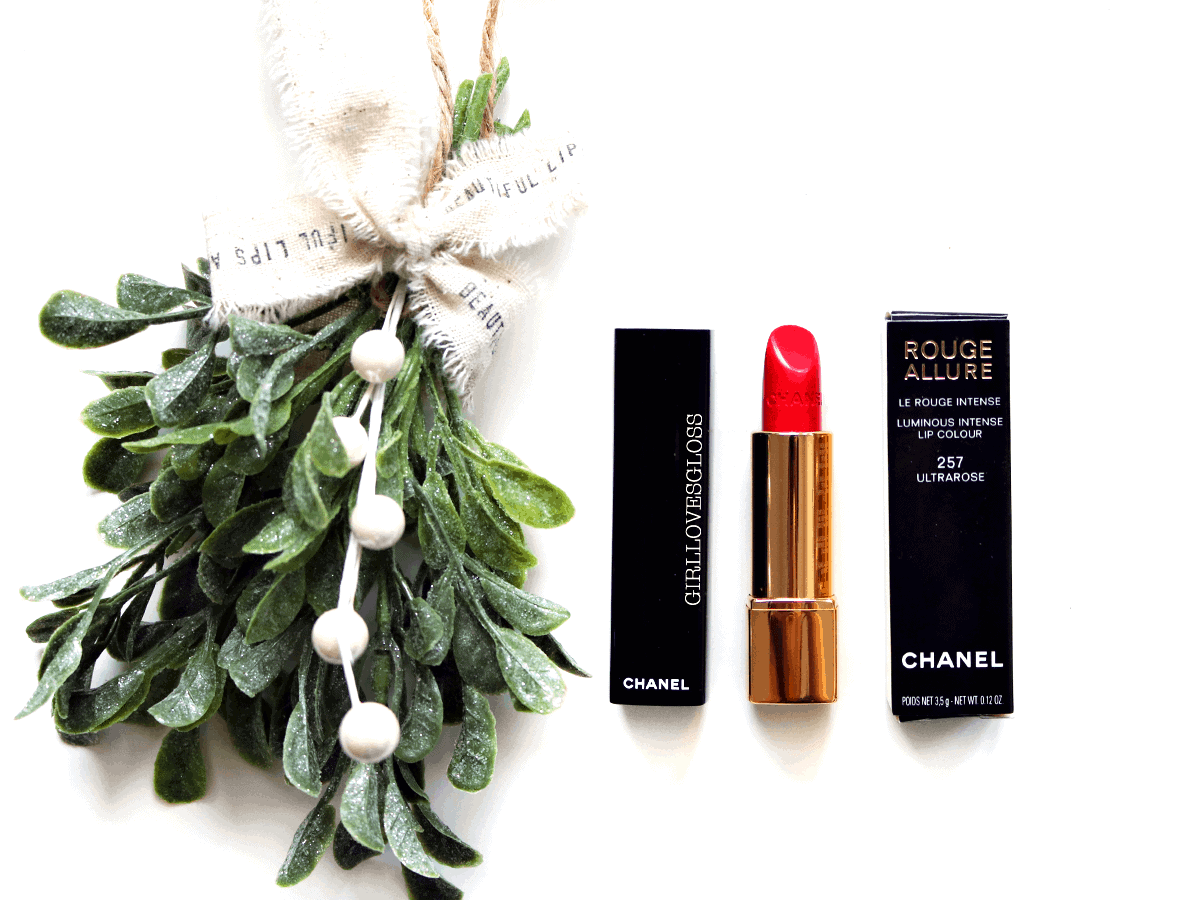 12 Days of Giveaways #8 : Chanel Rouge Allure Lipstick in UltraRose