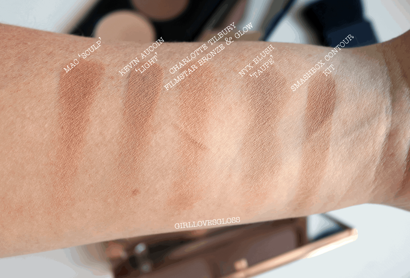 5 Well KNown Contour Powders Tested, Swatched and Compared