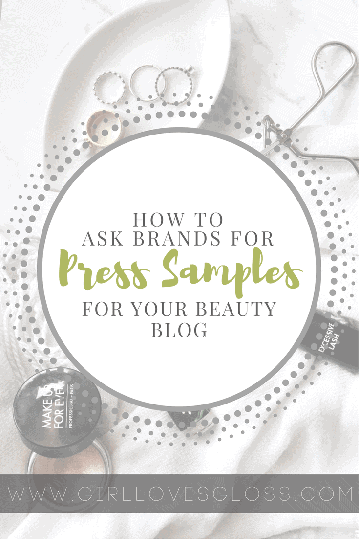 How to approach Brands for PR samples
