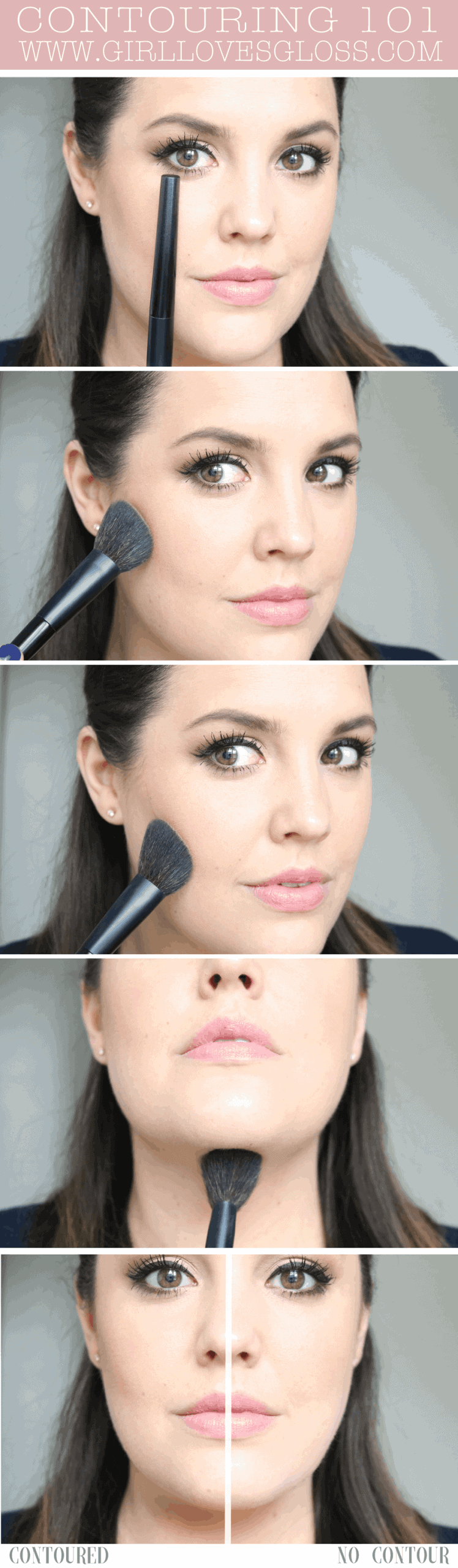 How to Contour Naturally Step by Step