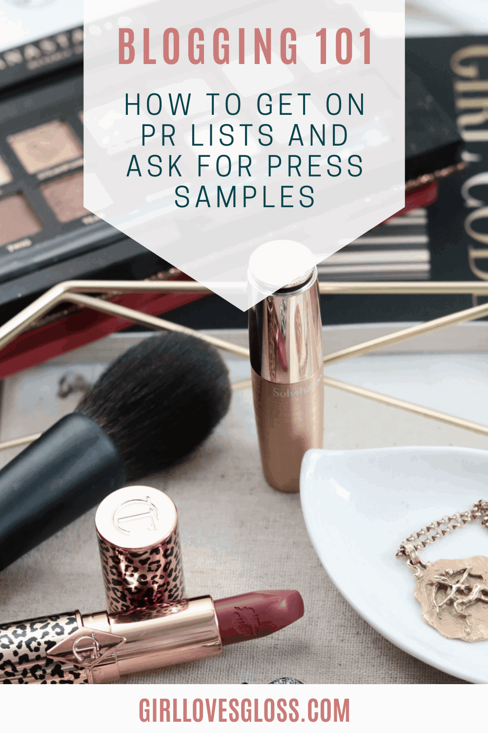 How to Ask Brands for Press Samples as a blogger or influencer