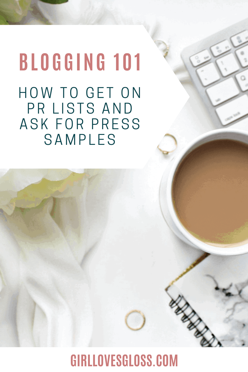 How to ask brands for press samples and to be put on a beauty pr list