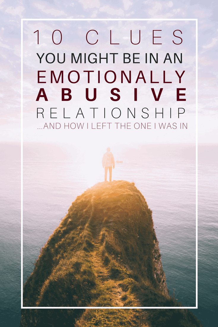 how to know if you're in an abusive or controlling relationship