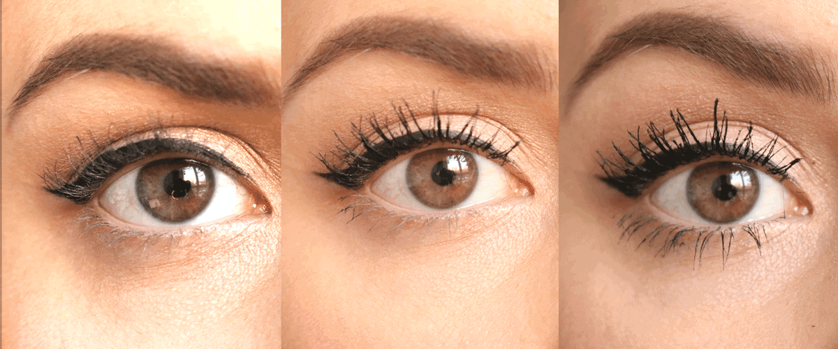 Make Up For Ever Excessive Lash Mascara Review Before and Afters