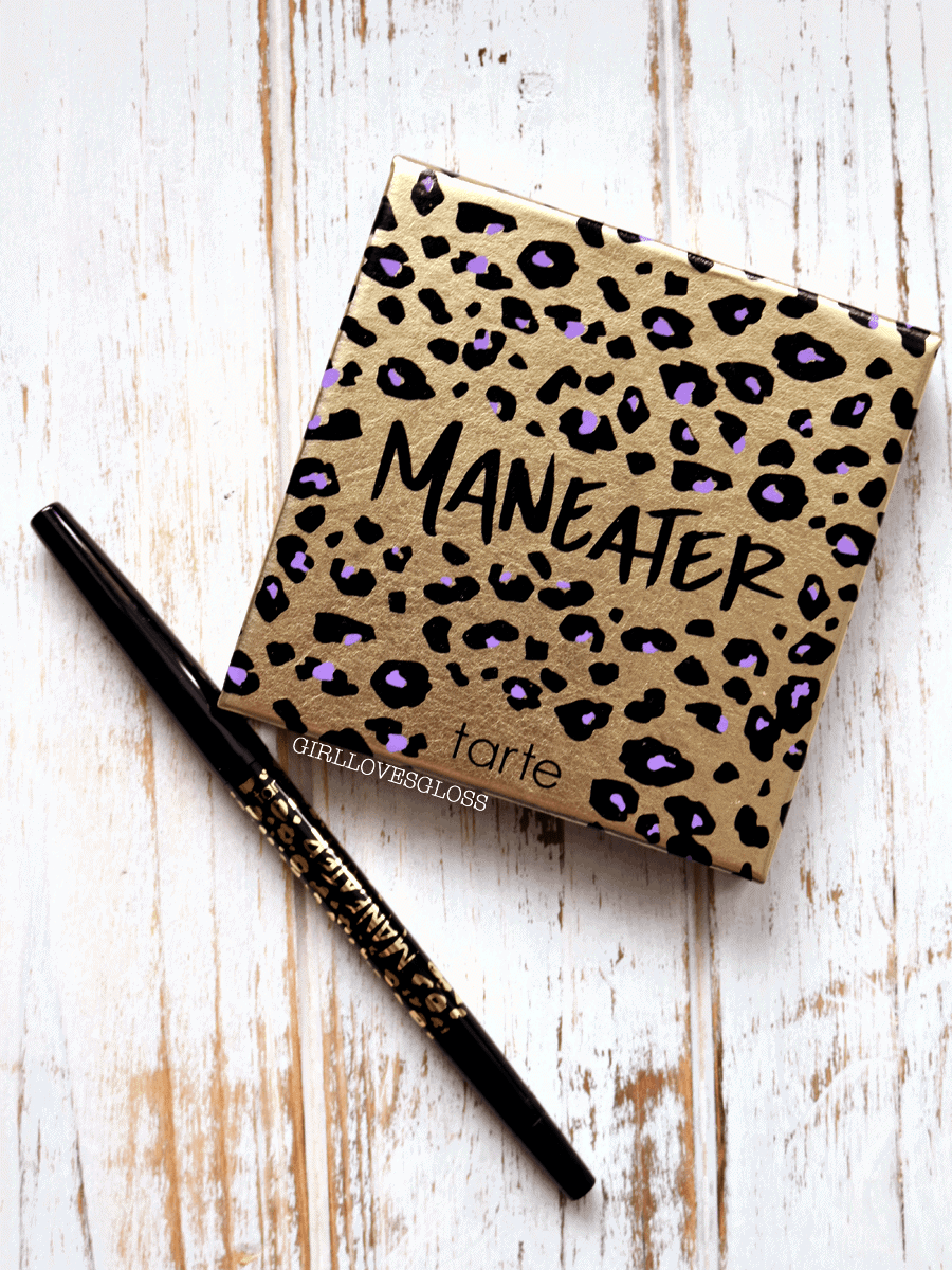 Tarte Maneater Palette and Liner Swatches and Review