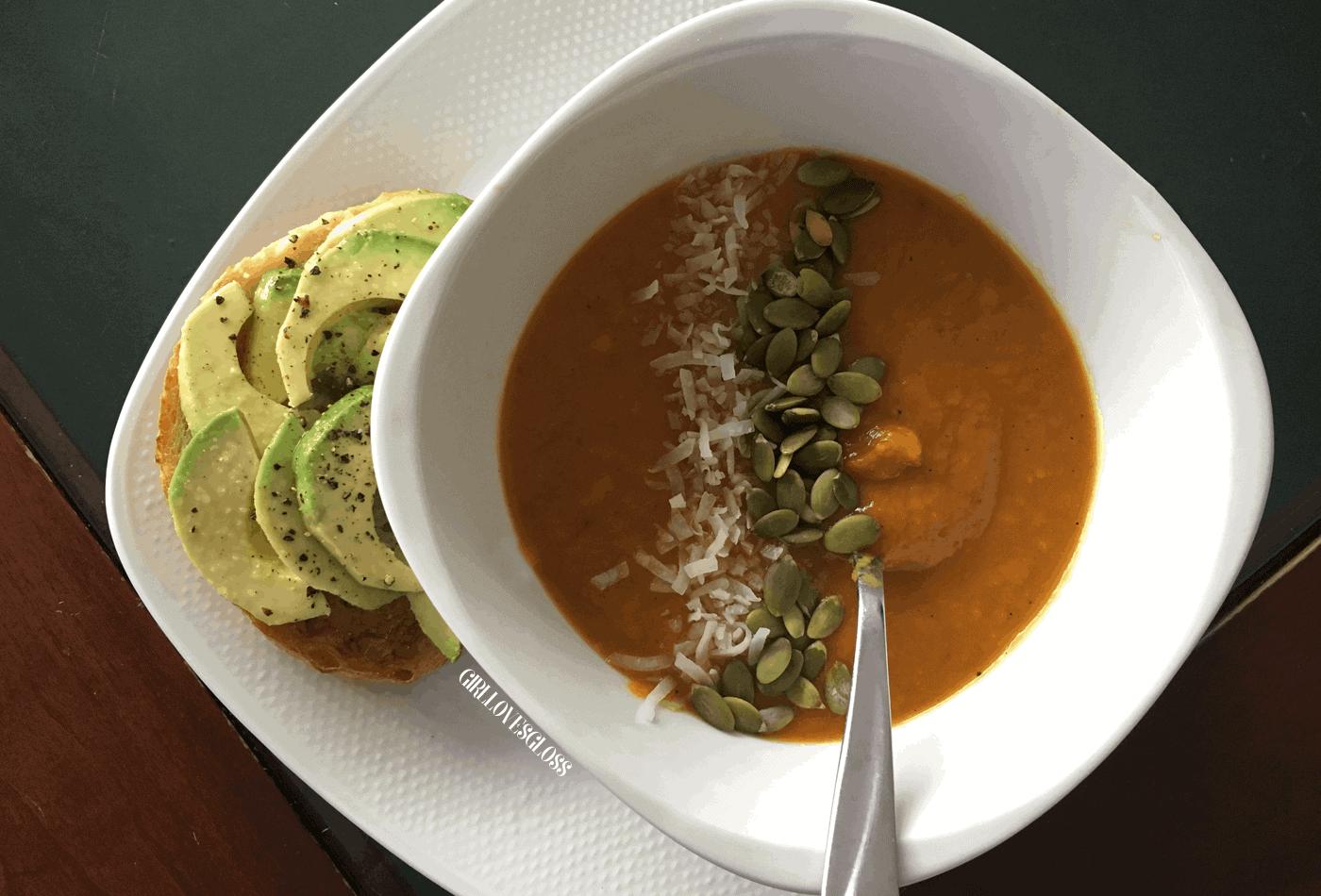 Thai Butternut Squash Soup Recipe