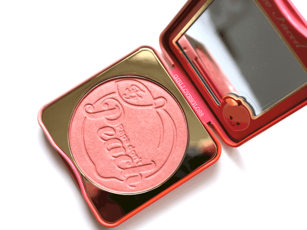 Too Faced Papa Don't Peach Blush Review and Swatches