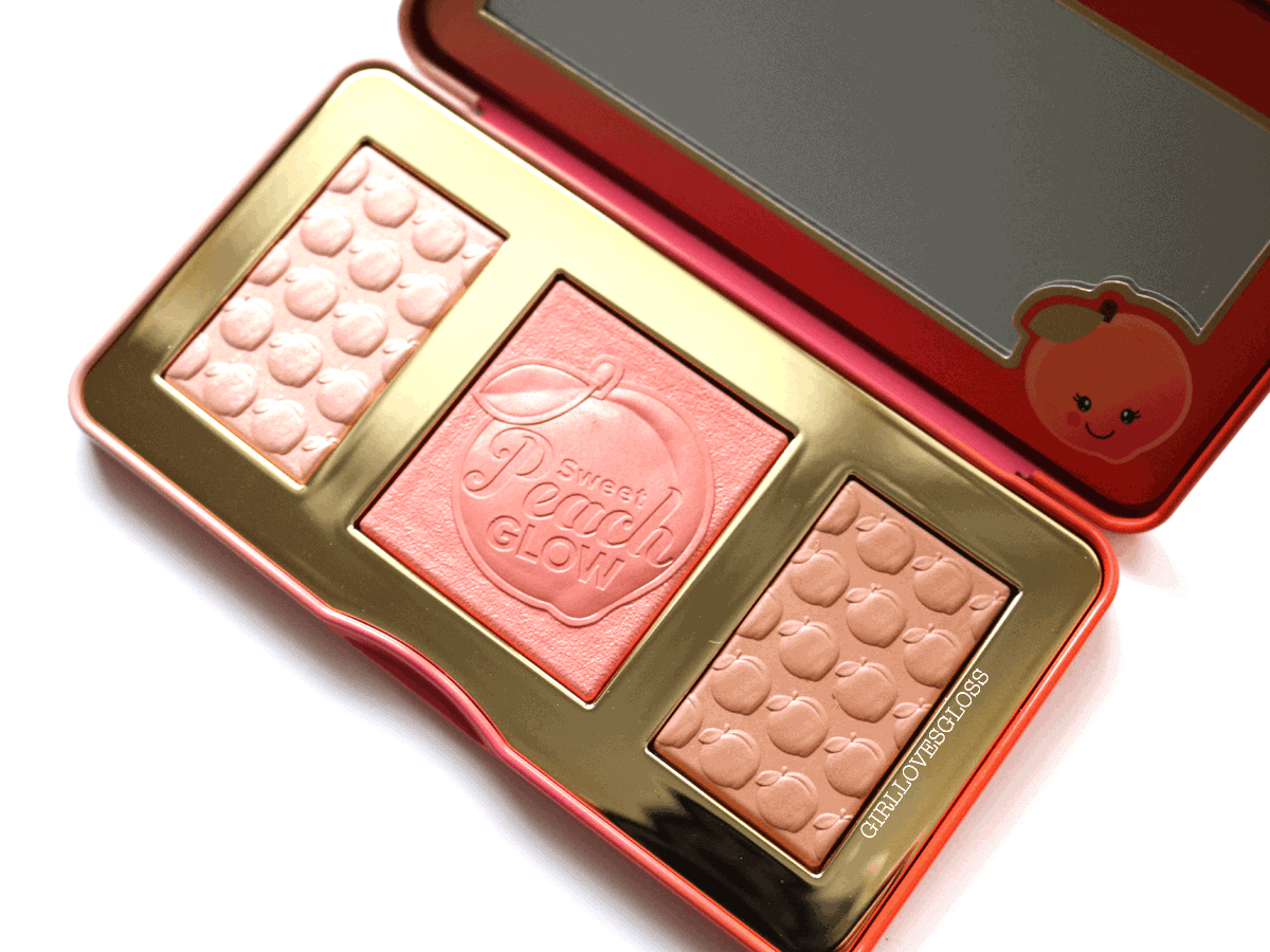 Too Faced Sweet Peach Glow Palette Review and Swatches