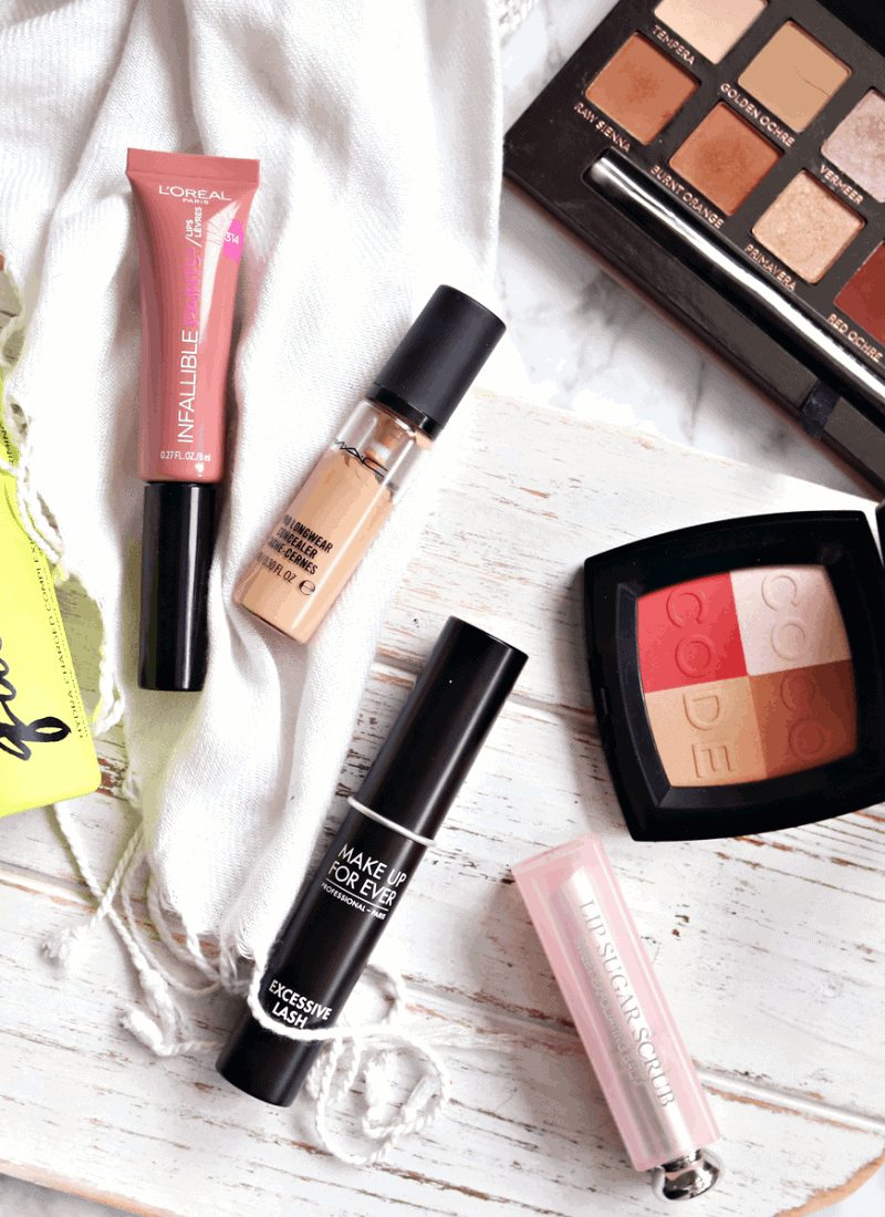 January 2017 Makeup and beauty Favourits