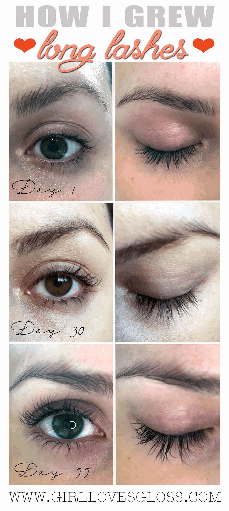 How to Grow Long Lashes