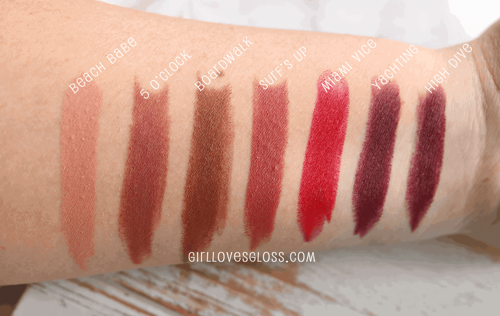 Tarte Color Splash Lipsticks