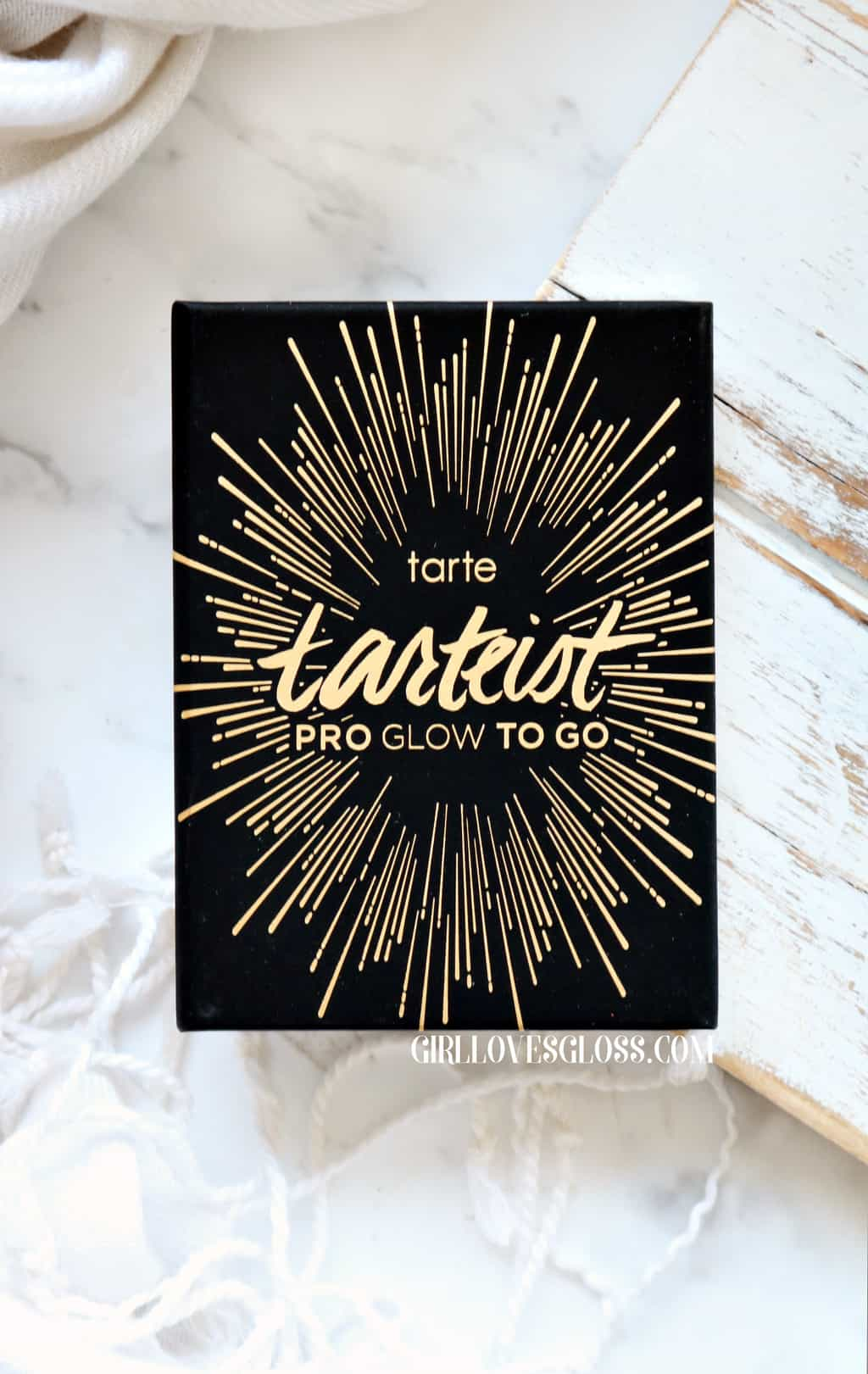 Glowing on the Go With Tarte