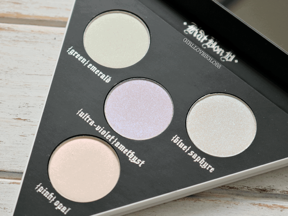 Holographic Eyeshadow? Kat Von D Alchemist Palette Review
