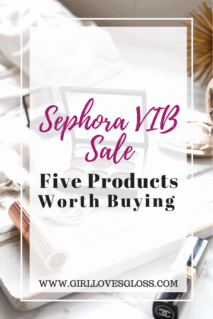 Sephora 2017 VIB Sale Picks