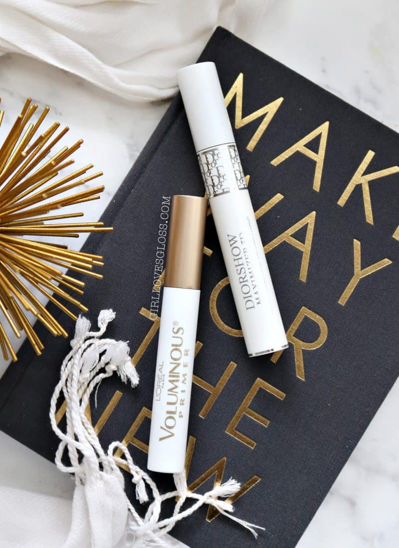 Dior Maximizer vs L'Oreal Voluminous Base Lash Primer comparison