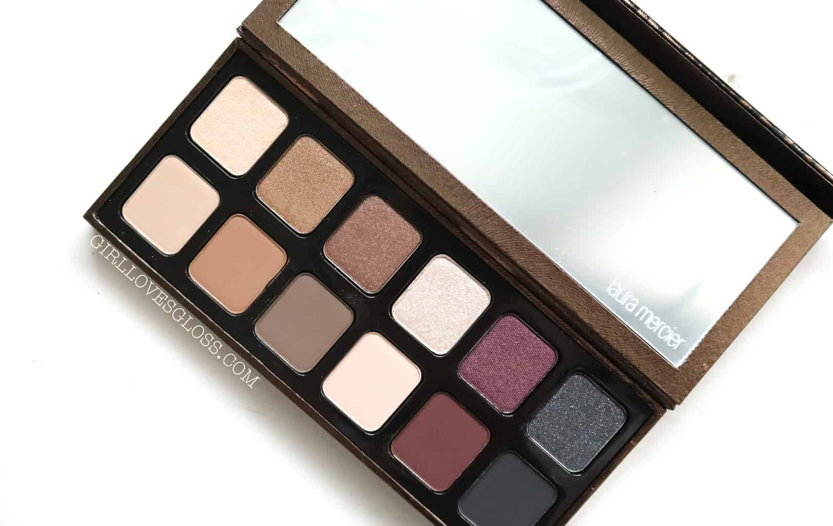 Laura Mercier Exotic Redefined Palette Review and Swatches Holiday 2017