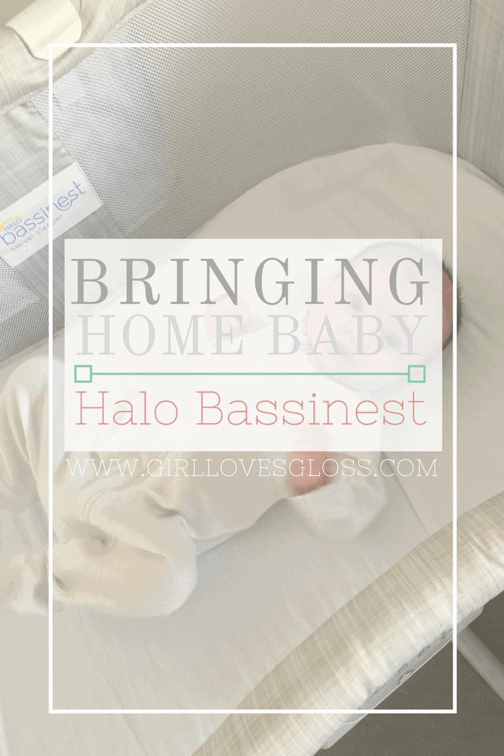 Bringing Baby Home Post C Section | HALO Bassinest & SleepSack Swaddle