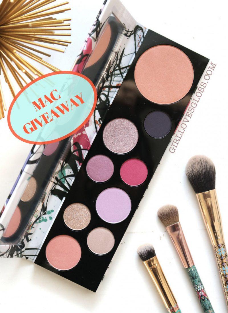 MAC Fashion Fanatic Personality Palette Giveaway