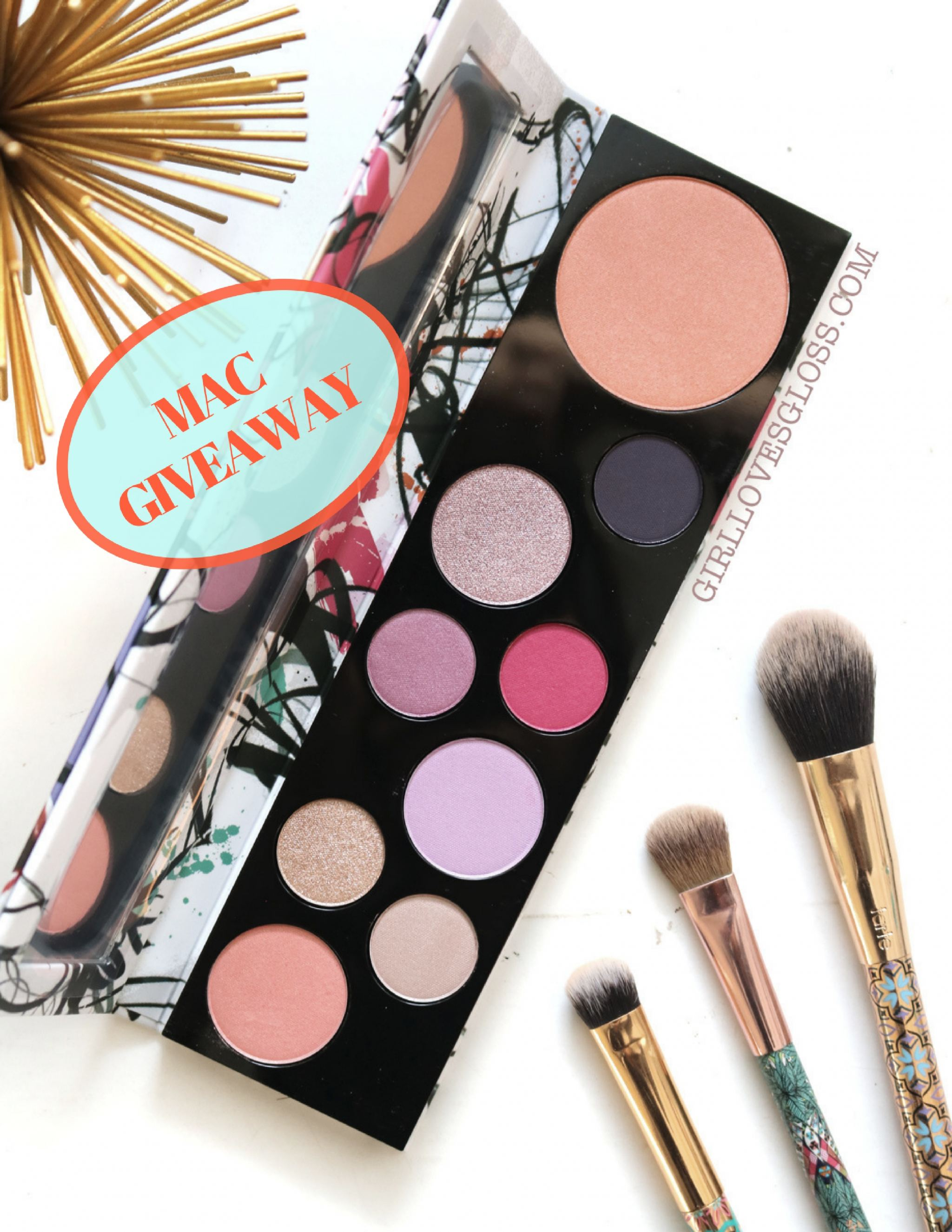 MAC Fashion Fanatic Personality Palette Giveaway