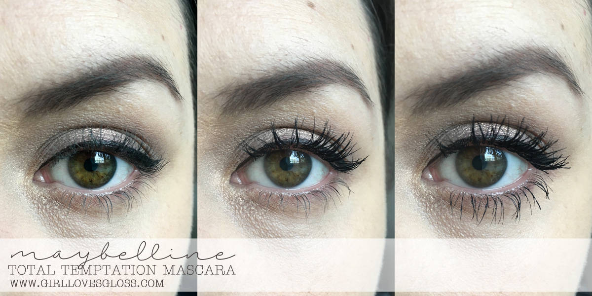 f3f675fae9f Mascara Monday | Maybelline Total Temptation Mascara Review • Girl ...