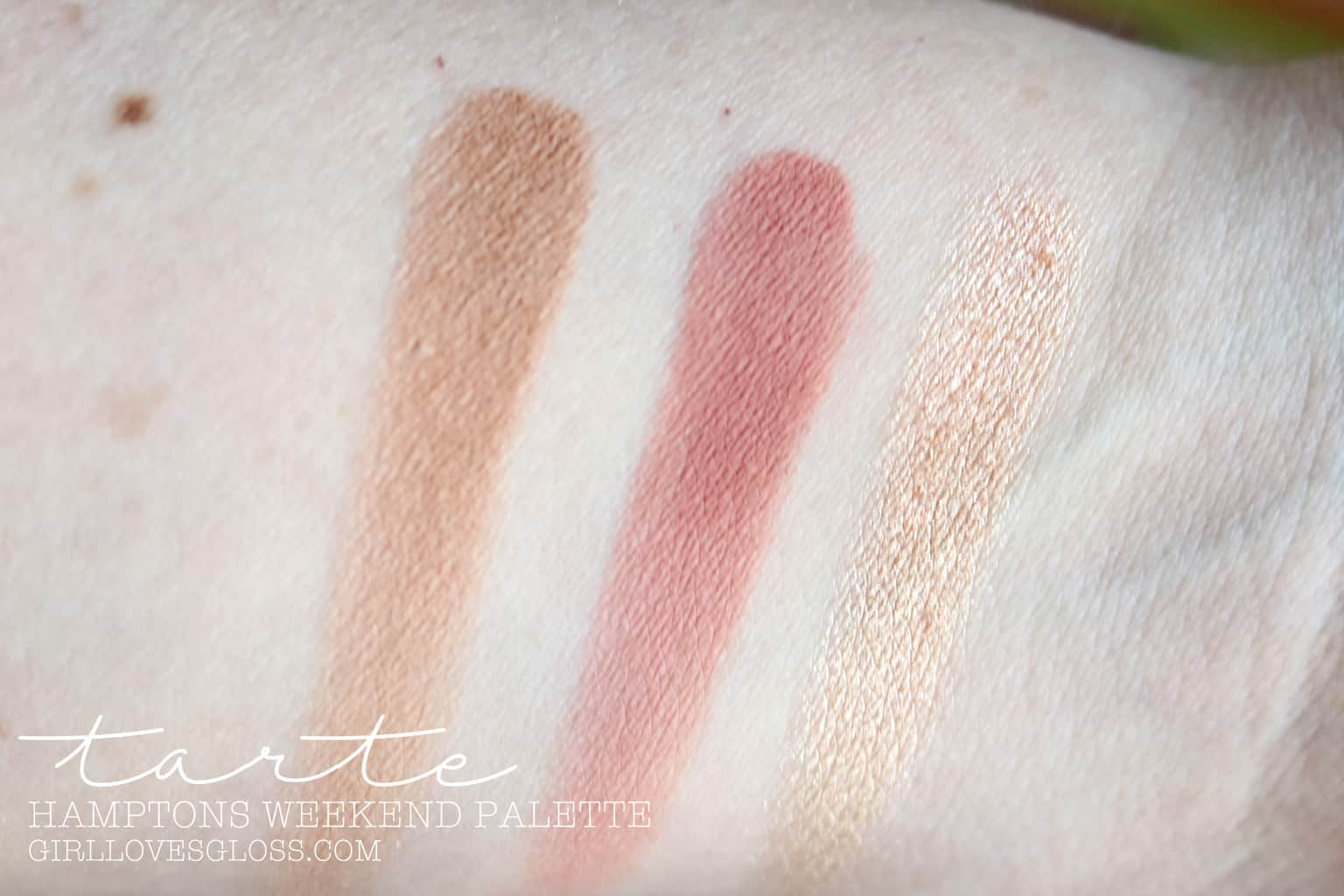 Tarte Hamptons Weekender Palette Review