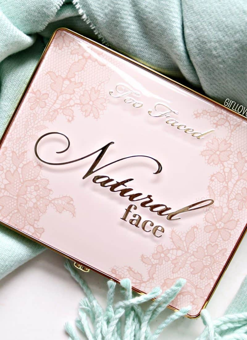 Too Faced Natural Face Palette Review and Swatches