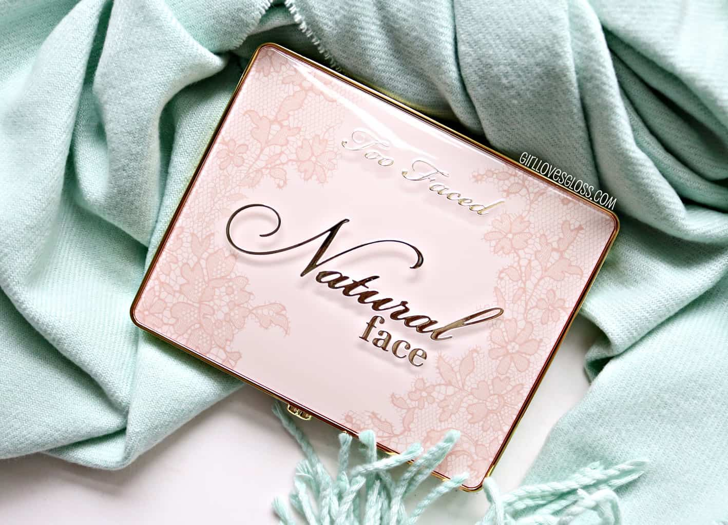 Too Faced Natural Face Palette | AKA I'm So Glad It's Not Another Peach Palette